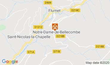 Kaart Les Saisies Studio 112090