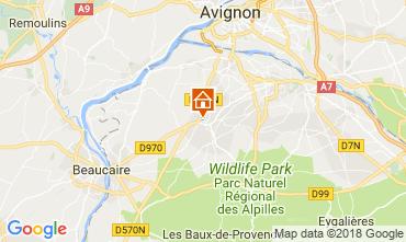 Kaart Saint Rémy de Provence Huis 115597