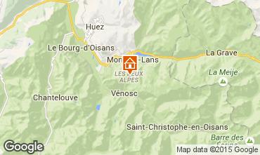 Kaart Les 2 Alpes Appartement 59362