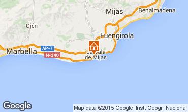 Kaart La Cala de Mijas Villa 92617