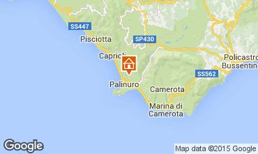 Kaart Palinuro Villa 70058
