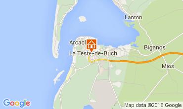 Kaart Arcachon Appartement 93098