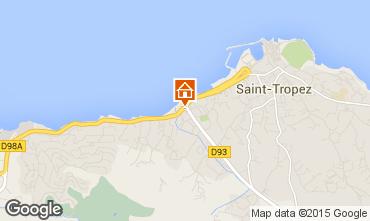 Kaart Saint Tropez Appartement 18756
