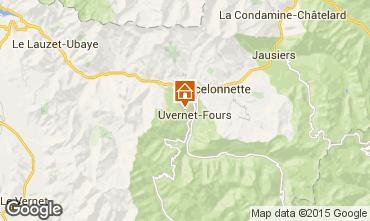 Kaart Pra Loup Chalet 76233