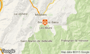 Kaart Méribel Chalet 51131