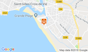 Kaart Saint-Gilles-Croix-de-Vie Appartement 116474