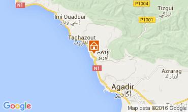 Kaart Agadir Appartement 73626