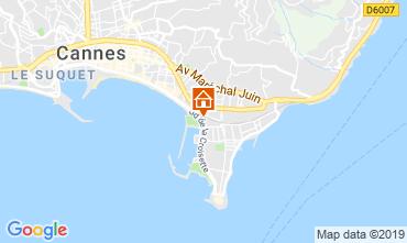 Kaart Cannes Appartement 45923