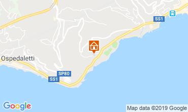 Kaart Sanremo Appartement 102654