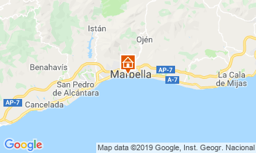 Kaart Marbella Appartement 67370