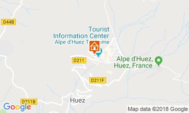 Kaart Alpe d'Huez Studio 116497
