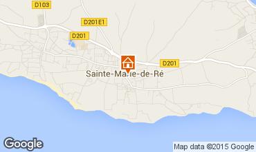 Kaart Sainte Marie de Ré Huis 97376