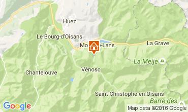 Kaart Les 2 Alpes Appartement 106447