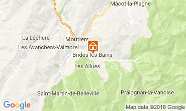 Kaart Brides Les Bains Appartement 114912