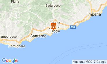 Kaart Sanremo Appartement 73053