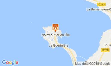 Kaart Noirmoutier en l'Île Huis 115256