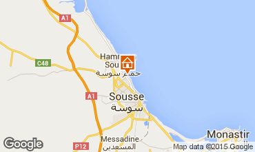 Kaart Sousse Appartement 80547