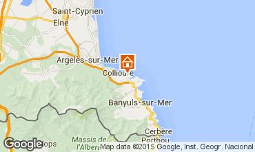Kaart Collioure Appartement 49274