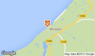 Kaart Wissant Appartement 82924