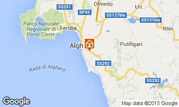 Kaart Alghero Villa 47678