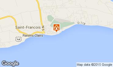Kaart Saint Francois Appartement 82732