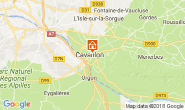 Kaart Cavaillon Villa 113322