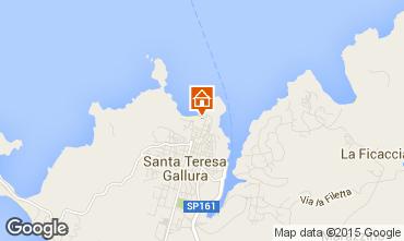 Kaart Santa Teresa di Gallura Appartement 84500