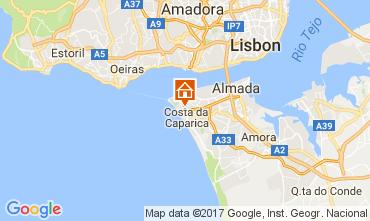 Kaart Costa de Caparica Appartement 108440