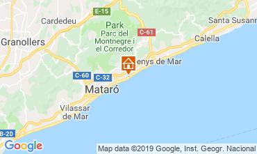 Kaart Barcelona Appartement 76574