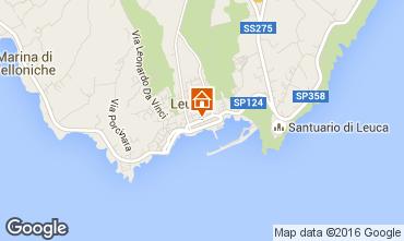 Kaart Santa Maria di Leuca Appartement 79206