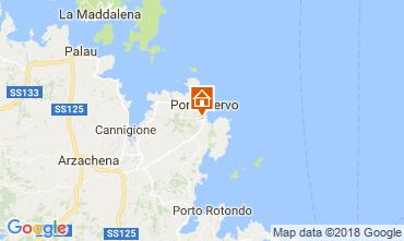 Kaart Porto Cervo Bijzondere B&B 115523