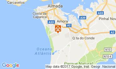 Kaart Lissabon Villa 111042