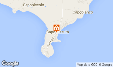 Kaart Isola di Capo Rizzuto Appartement 102410