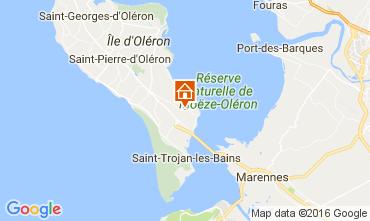 Kaart Le Château d'Oléron Huis 107551