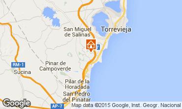 Kaart Torrevieja Villa 39657