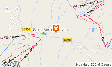 Kaart Saint Sorlin d'Arves Appartement 73895