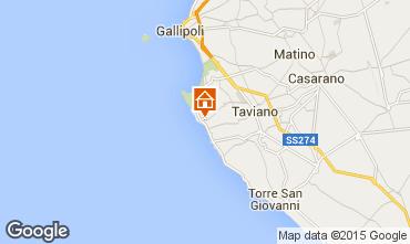 Kaart Gallipoli Villa 84965