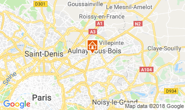Kaart PARIJS Appartement 93070