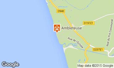Kaart Ambleteuse Appartement 81109