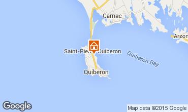 Kaart Saint Pierre Quiberon Villa 81399