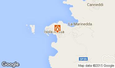 Kaart Isola Rossa Appartement 61212