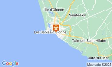 Kaart Les  Sables d'Olonne Appartement 7143