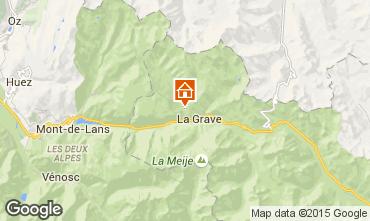 Kaart La Grave - La Meije Chalet 4764