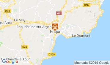 Kaart Fréjus Appartement 17960