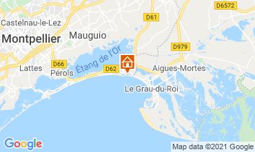 Kaart La Grande Motte Appartement 114897