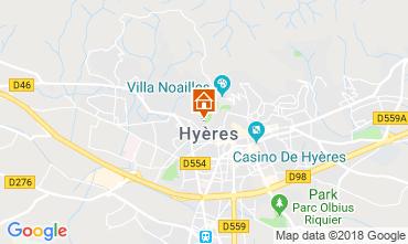 Kaart Hyères Huis 116924