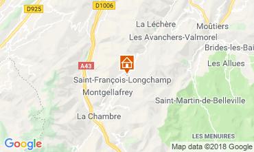 Kaart Saint François Longchamp Chalet 117215