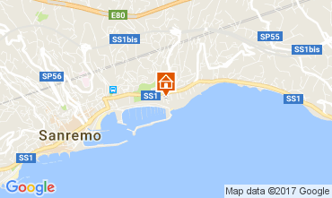 Kaart Sanremo Bungalow 48673