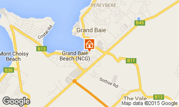 Kaart Grand Baie Appartement 90950