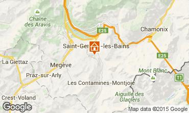 Kaart Megève Chalet 16662